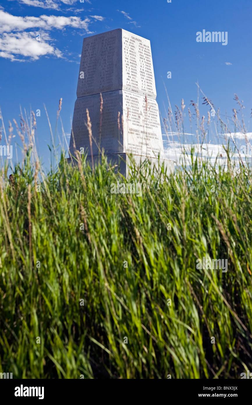 Little Big Horn Battlefield National Monument, Montana. Stock Photo