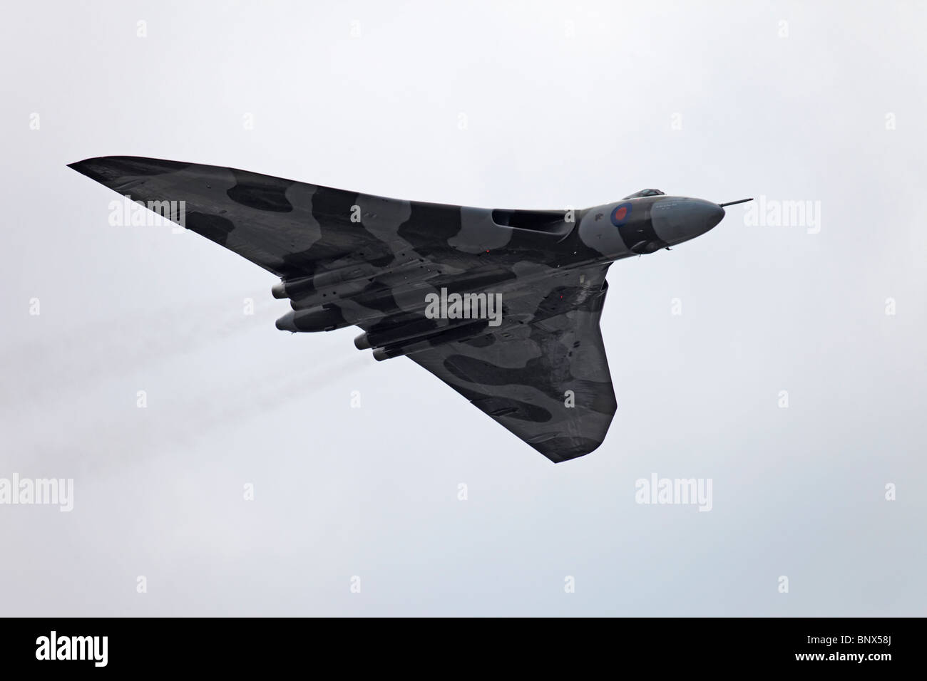 Farnborough Avro Vulcan B2 - Stock Image