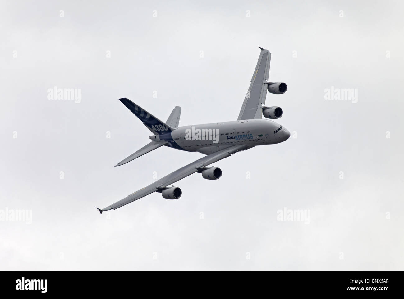 Farnborough Airbus industries A380 - Stock Image