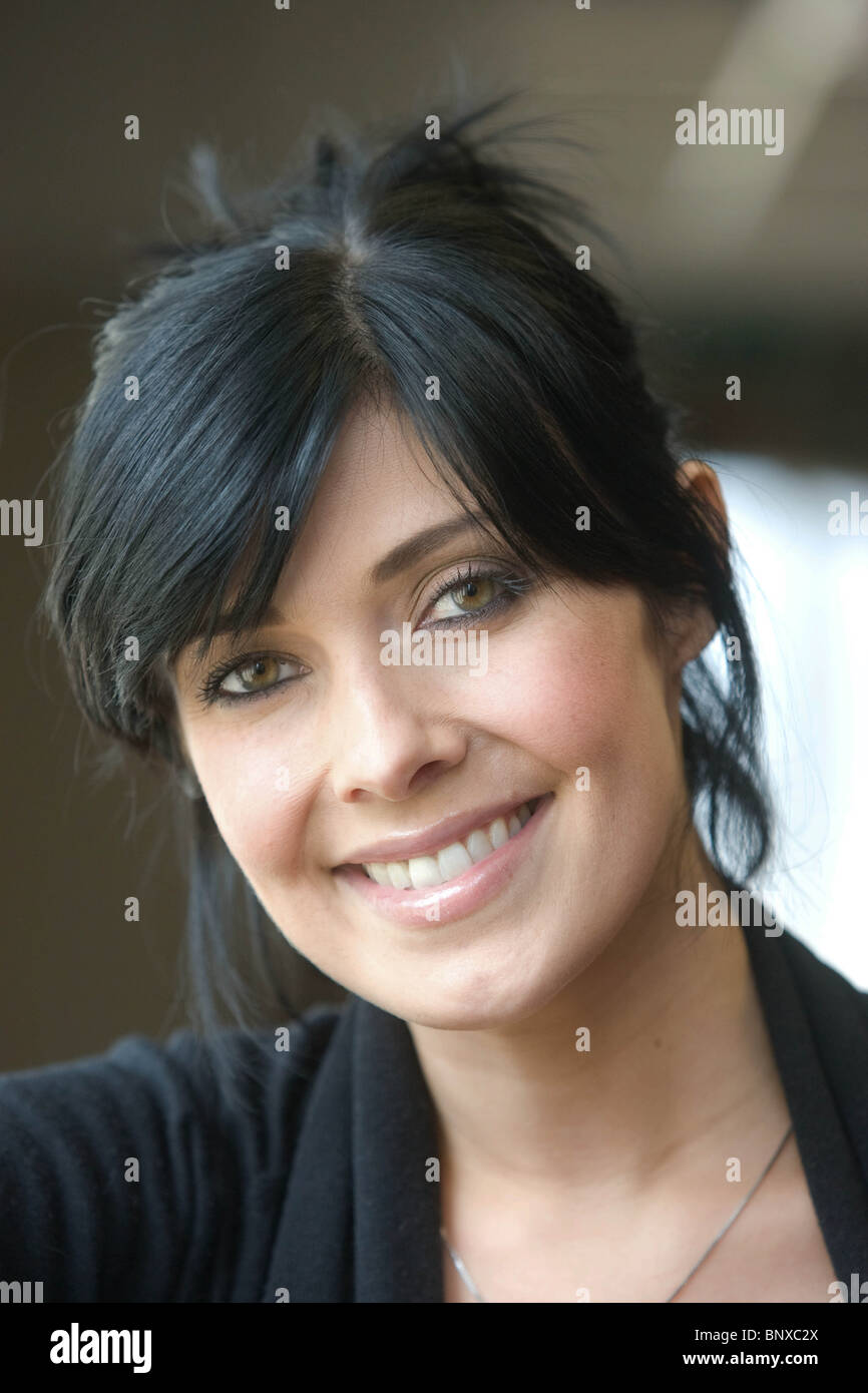 Tv Actress Kim Marsh - Stock Image