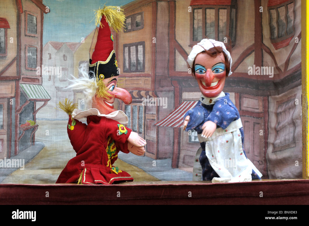 Punch Judy In The Festival At St Paul 39 S Church In Covent Garden Stock Photo 30699315 Alamy