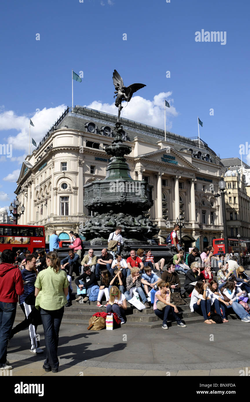 Piccadilly Circus - Stock Image