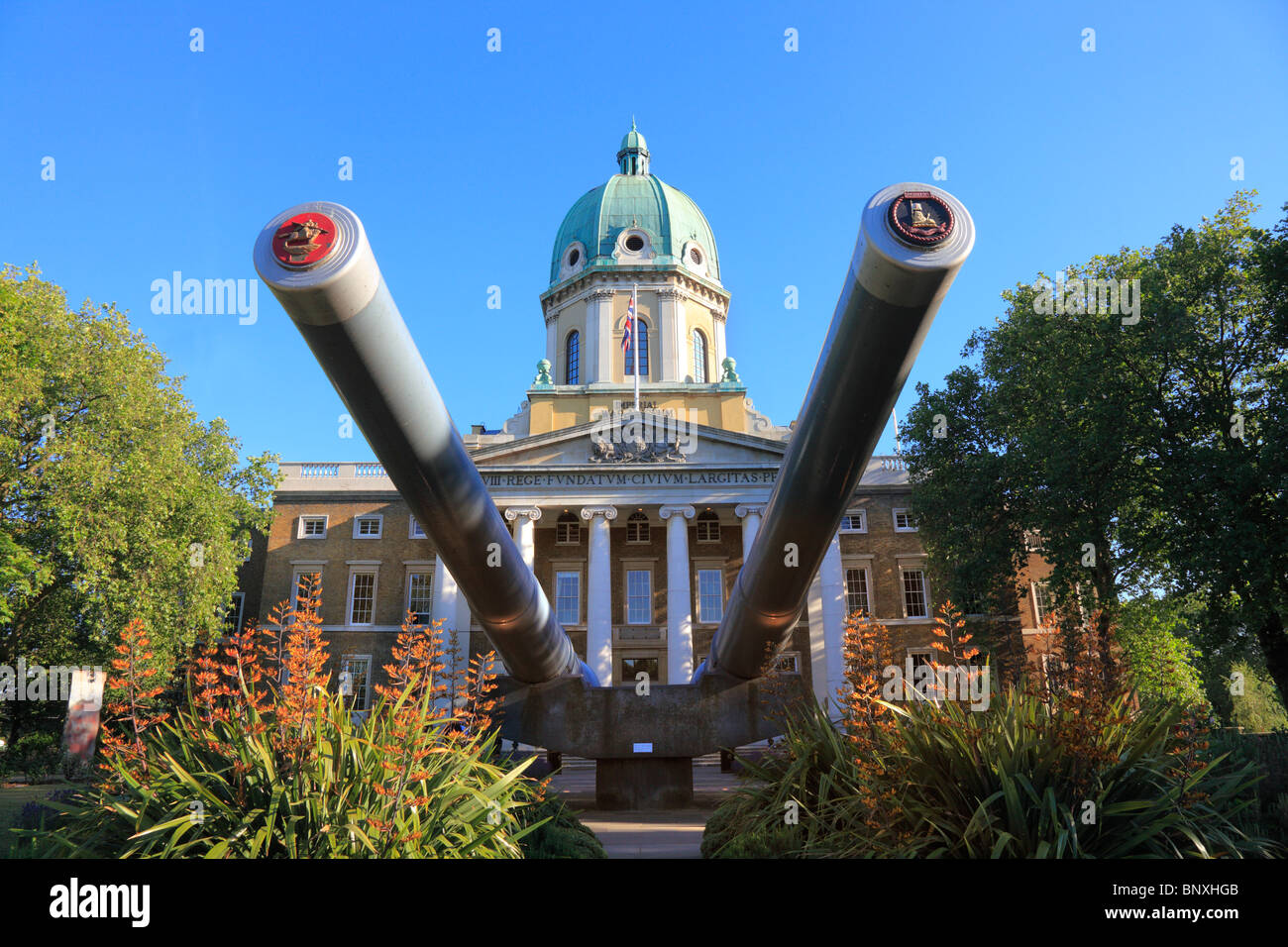 The Imperial War Museum at Lambeth London - Stock Image