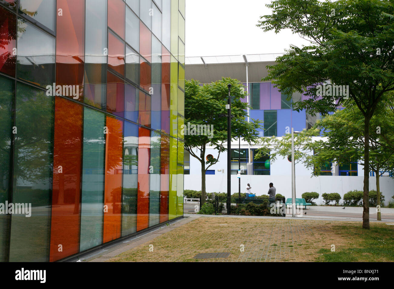 Peckham Library and Peckham Pulse, Peckham, London, UK - Stock Image