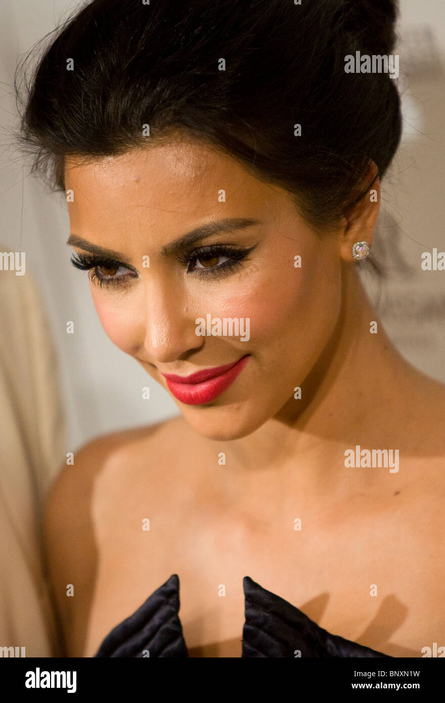 Kim Kardashian - Stock Image