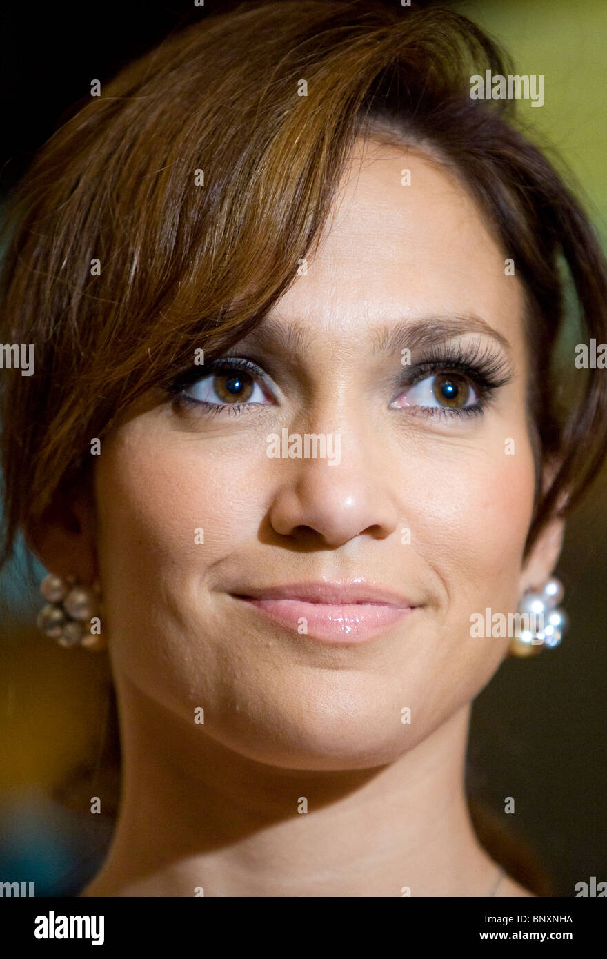 Actress Jennifer Lopez. - Stock Image