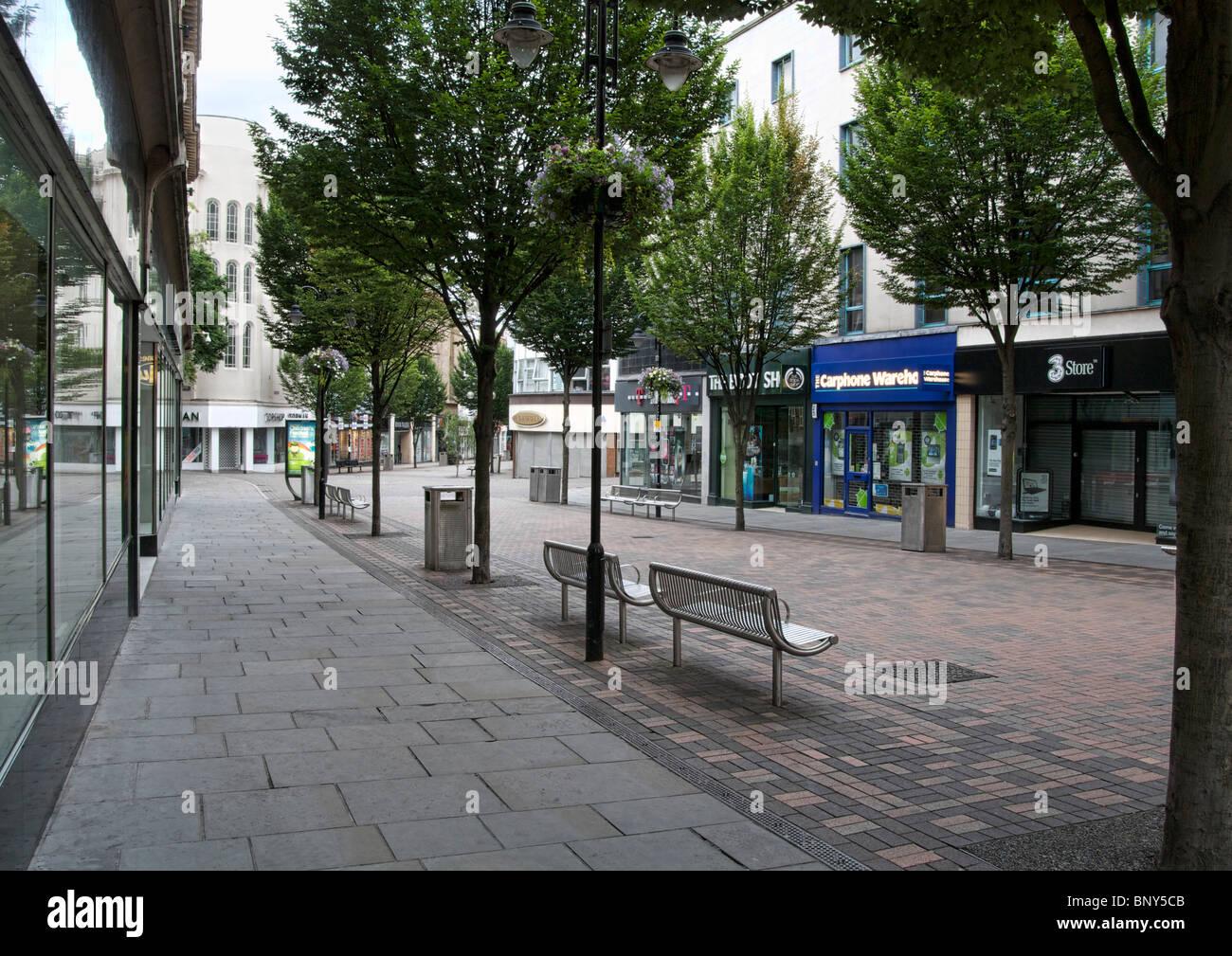 Albert Street Nottingham Nottinghamshire United Kingdom - Stock Image