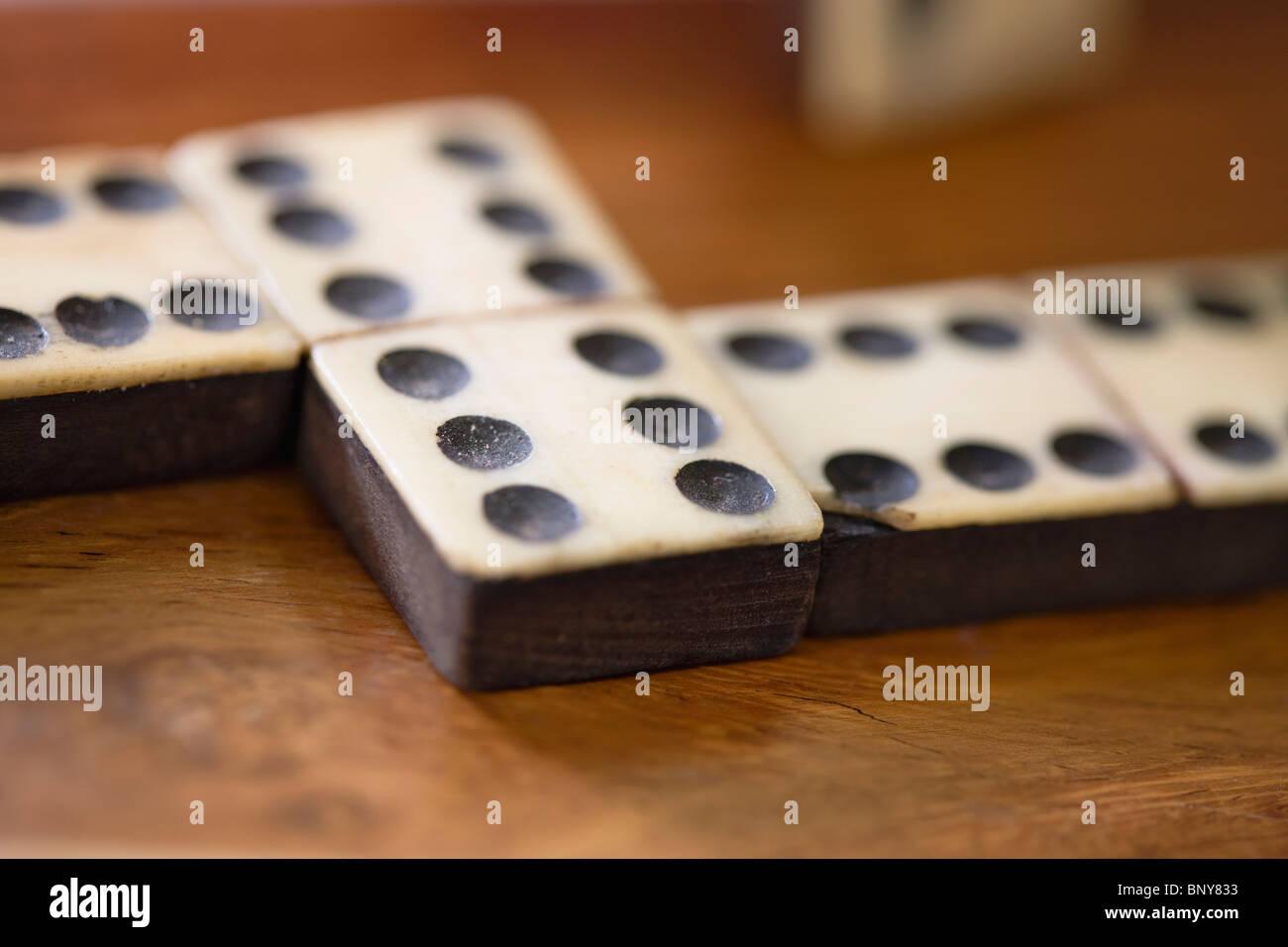Domino - Stock Image