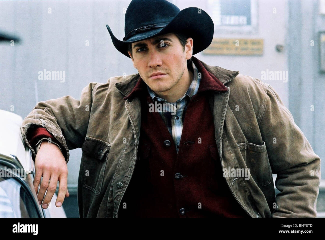 Jake Gyllenhaal Brokeback Mountain 2005 Stock Photo Alamy