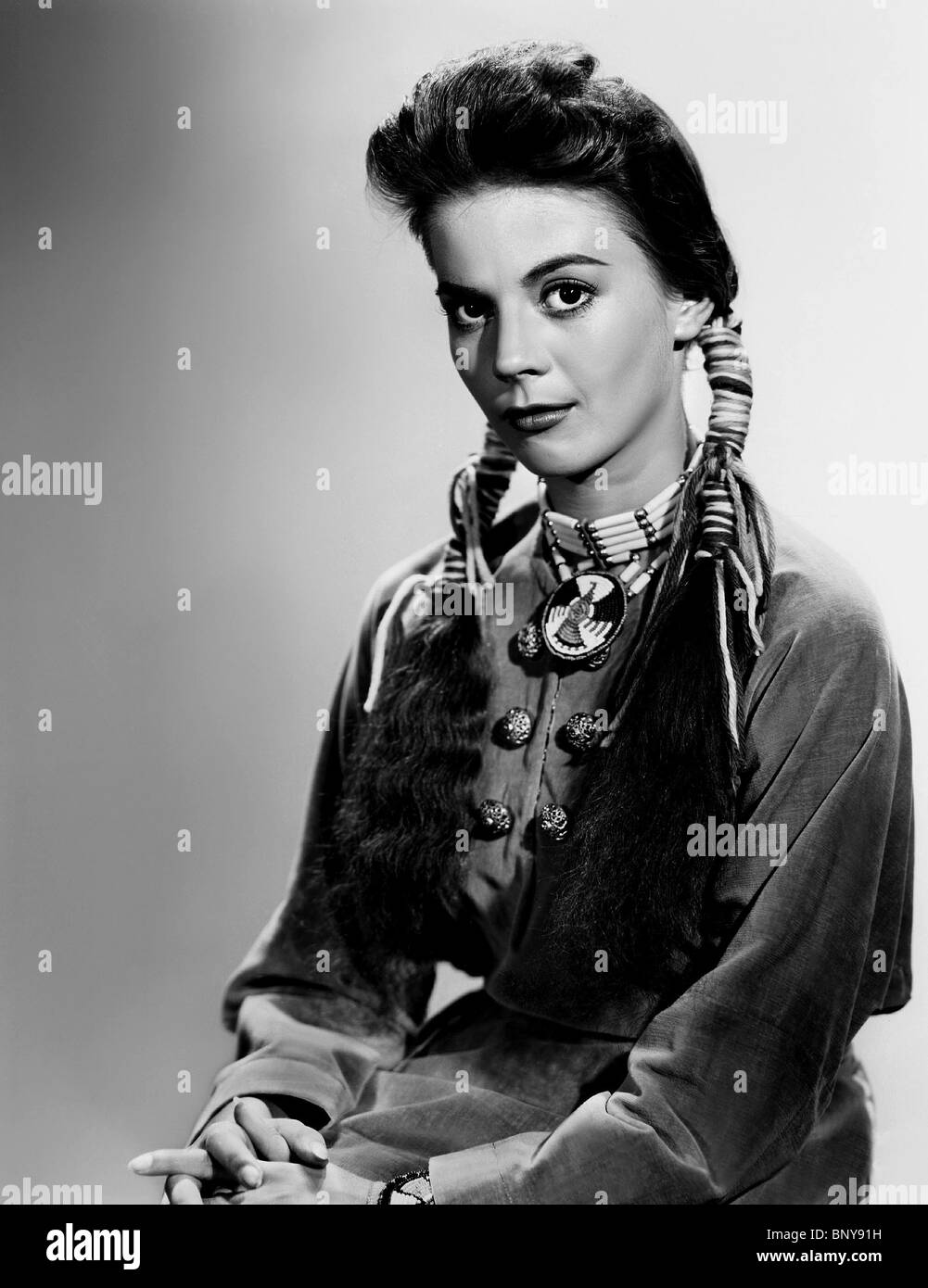 NATALIE WOOD THE SEARCHERS (1956) - Stock Image