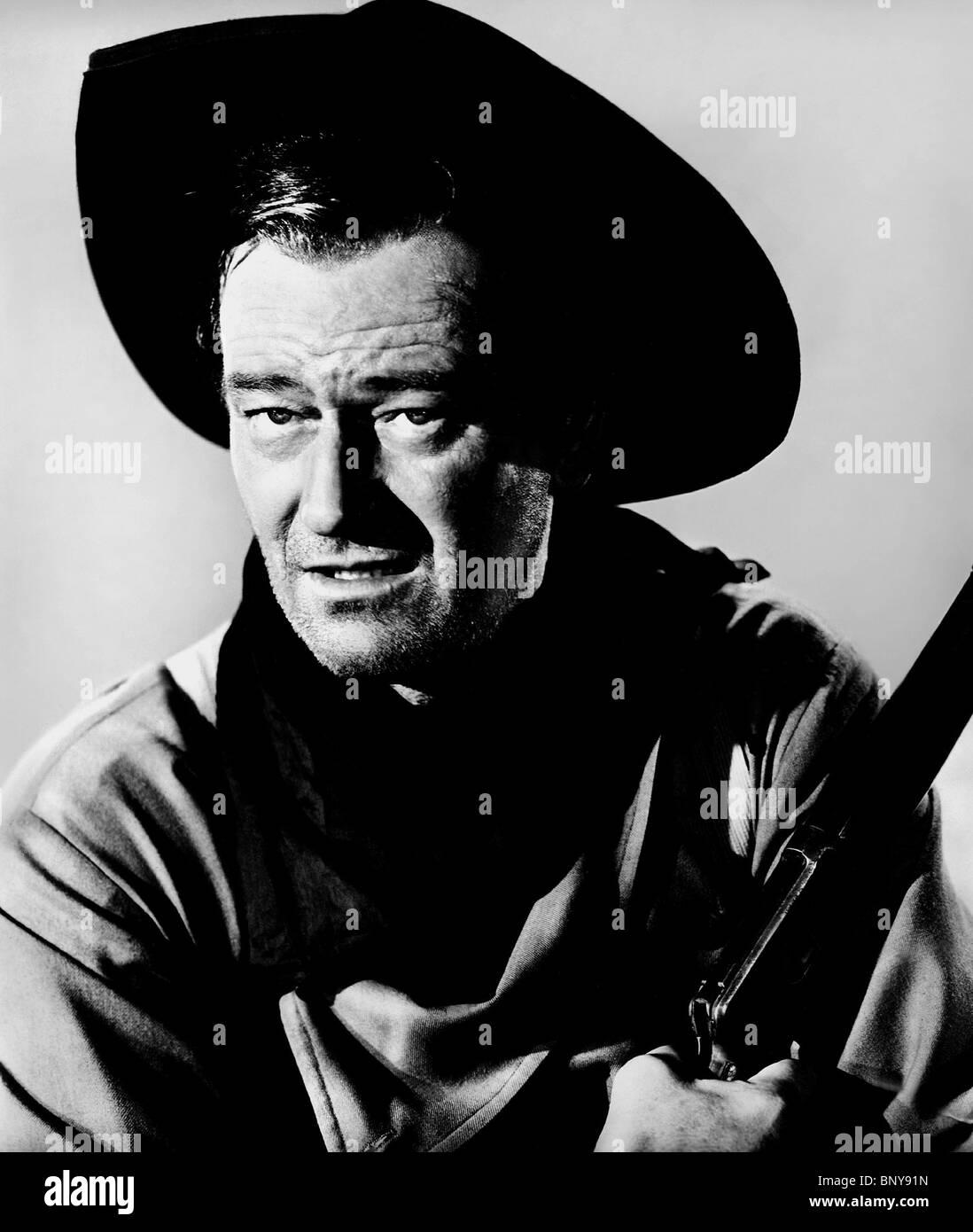 JOHN WAYNE THE SEARCHERS (1956) - Stock Image