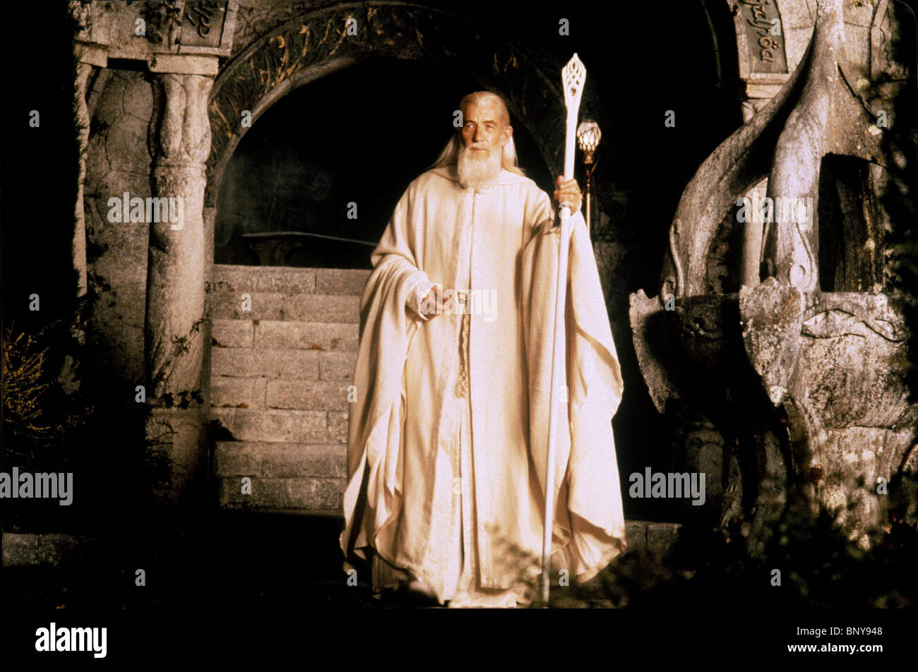 SIR IAN MCKELLEN THE LORD OF THE RINGS III: THE RETURN OF THE KING (2003) - Stock Image