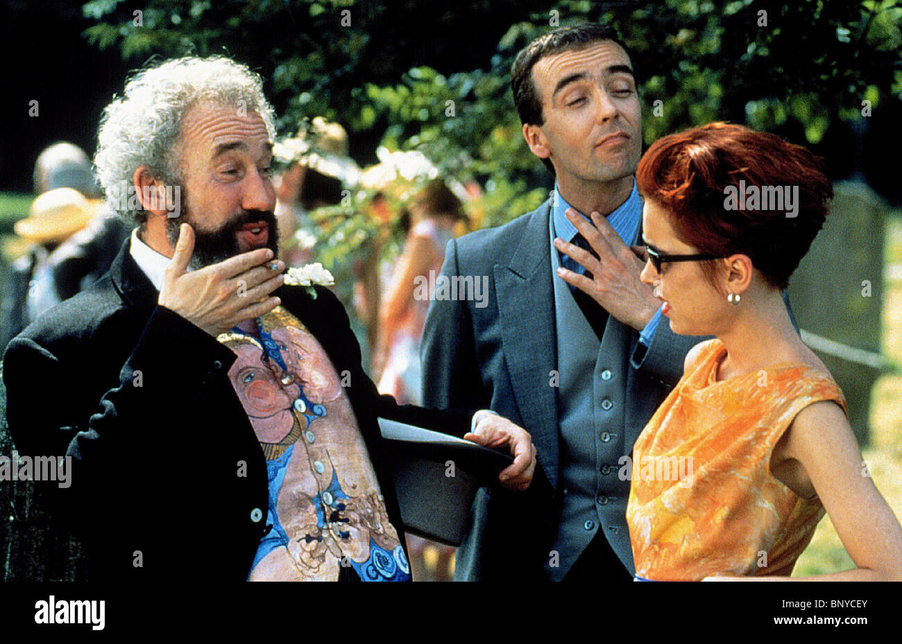 Four Weddings And A Funeral Gallery: Simon Callow Four Weddings Stock Photos & Simon Callow