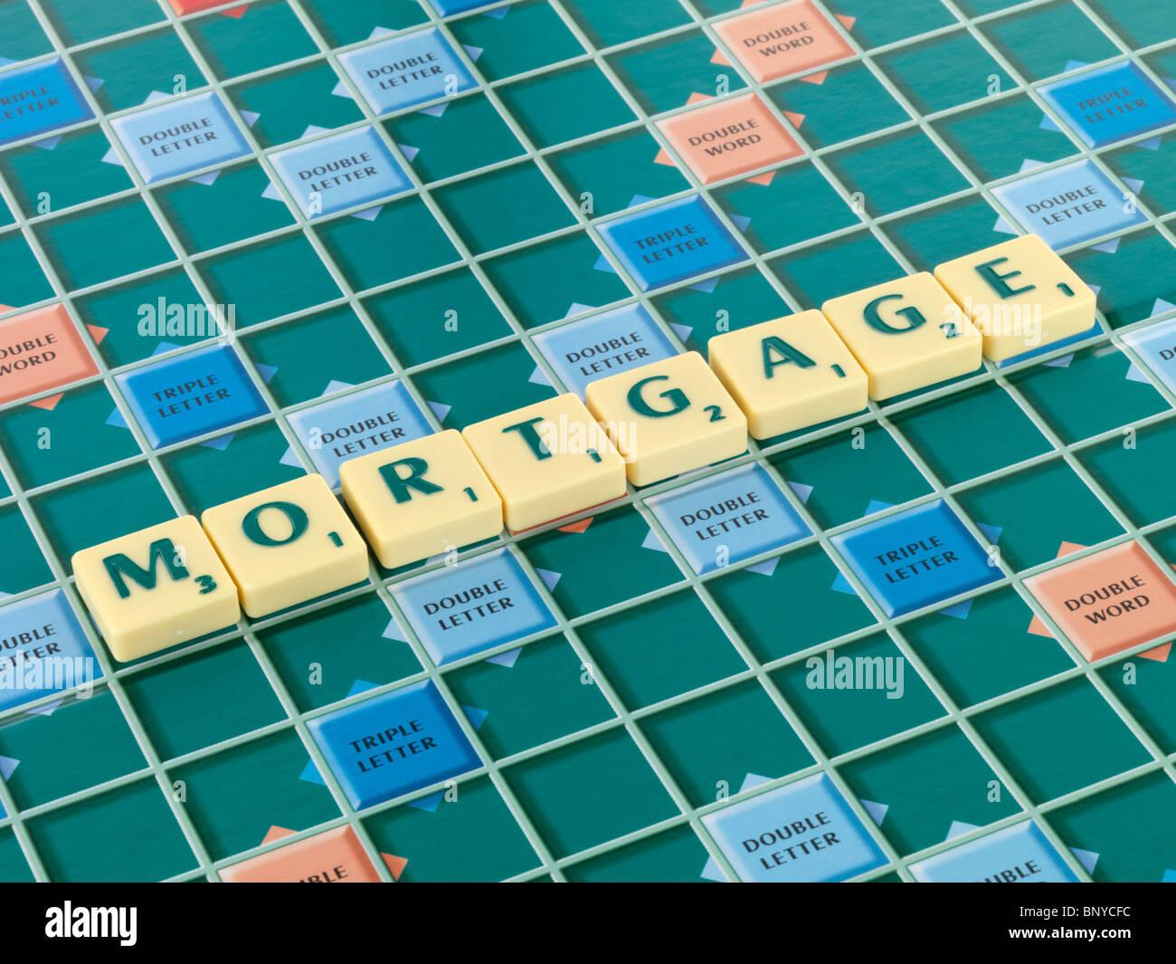 Mortgage - Stock Image