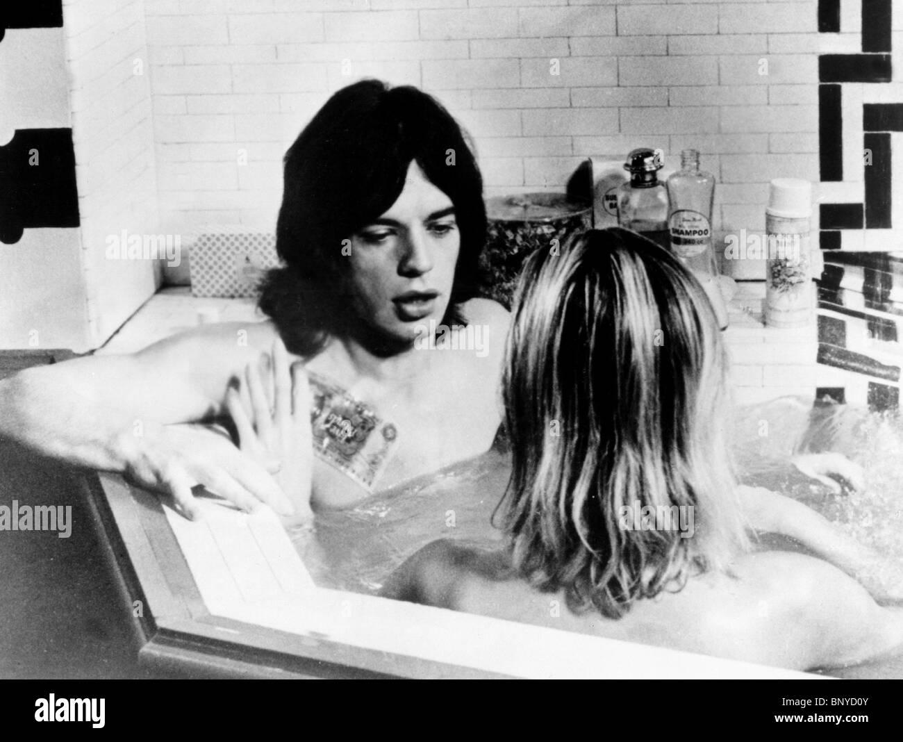 MICK JAGGER PERFORMANCE (1970) - Stock Image
