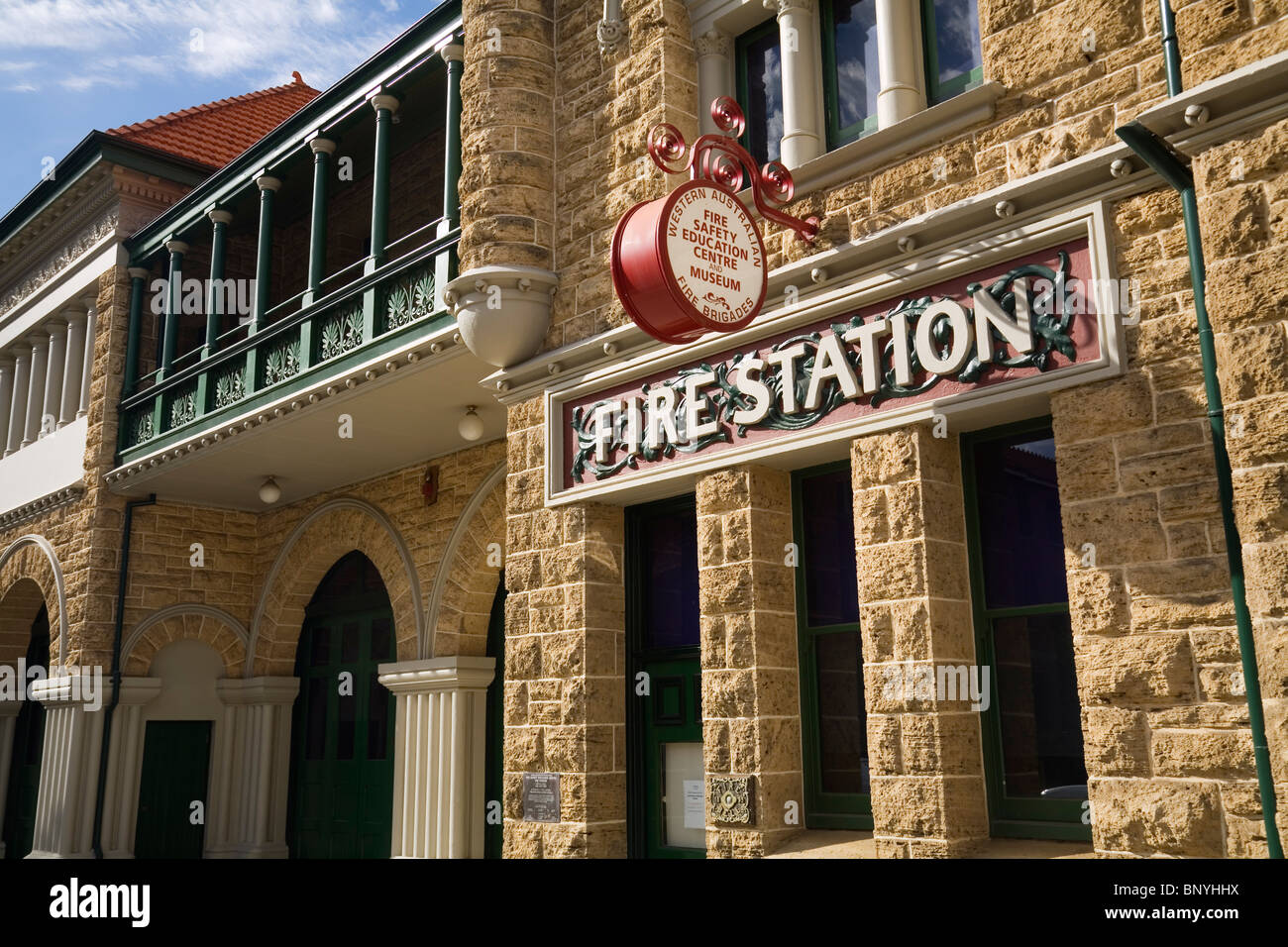 Fire Safety and Education Museum in the old Perth Fire Station. Perth, Western Australia, AUSTRALIA. - Stock Image