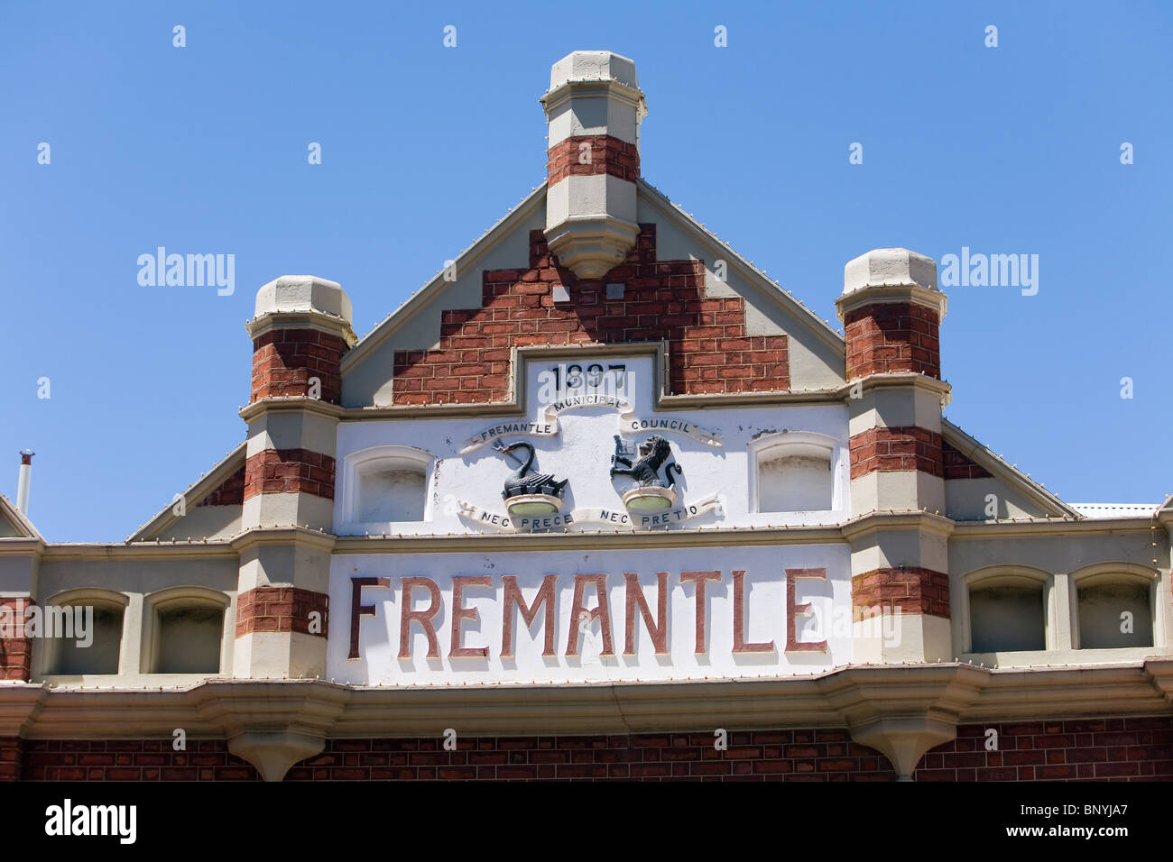 The historic Fremantle Markets, dating back to 1897. Fremantle, Western Australia, AUSTRALIA. - Stock Image