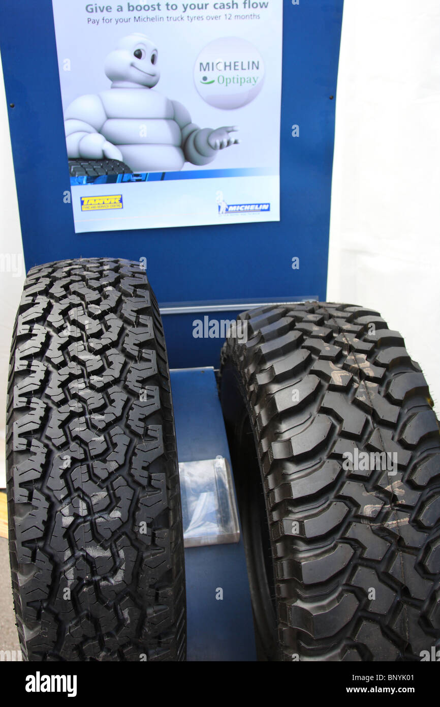 Michelin tyres. - Stock Image