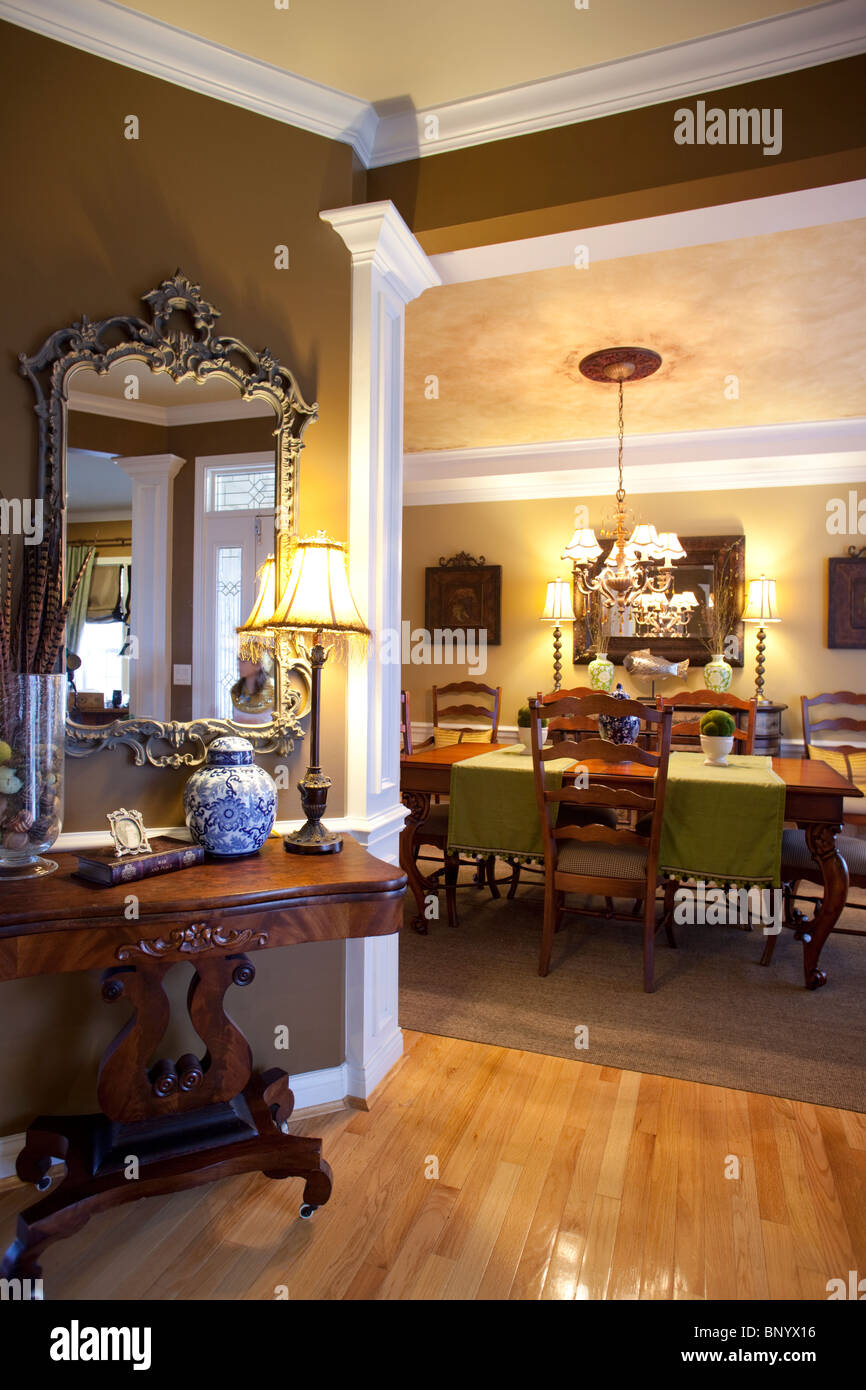 Main foyer with open access to formal dining room in ...