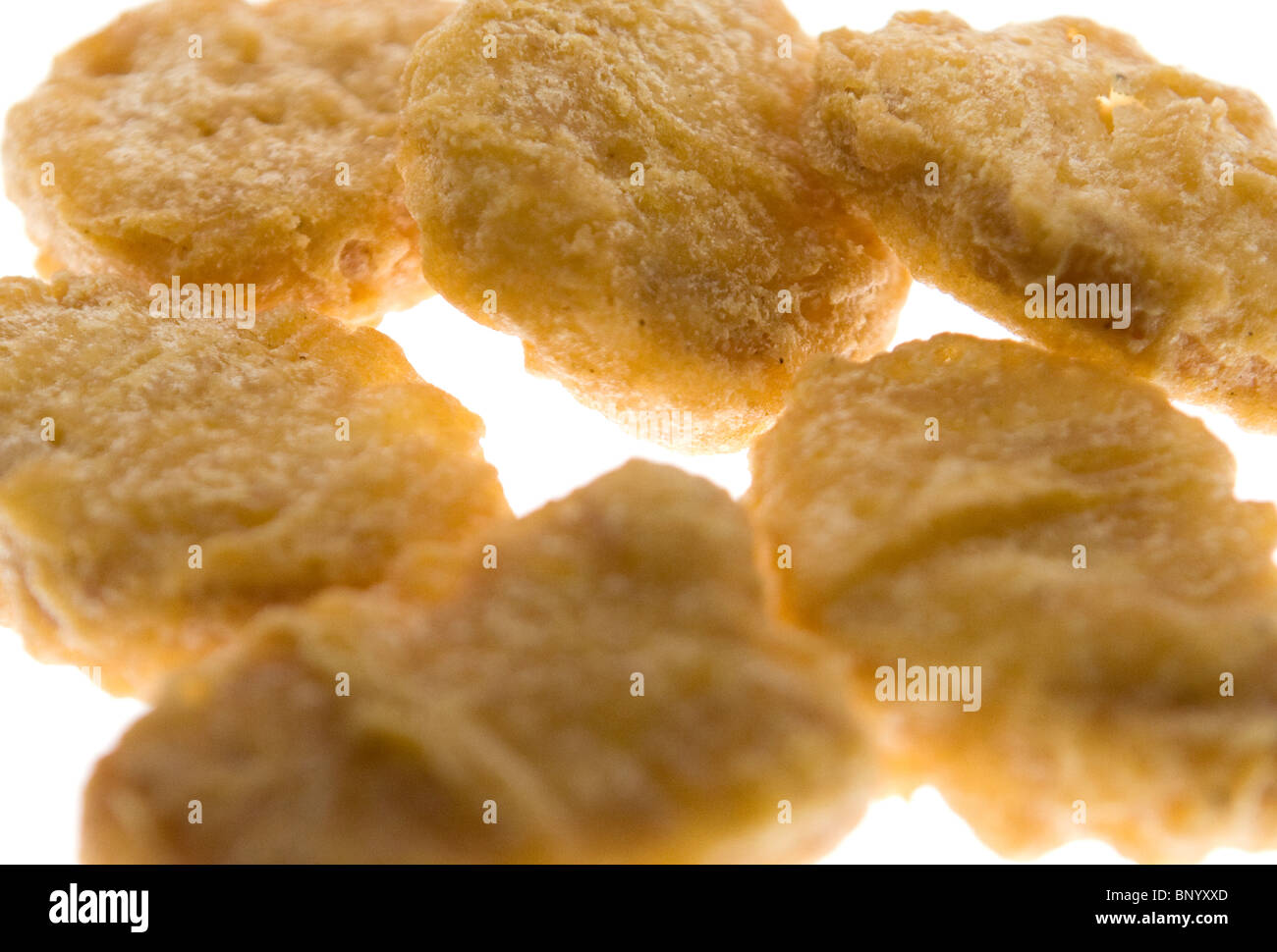 McDonald's chicken nuggets. - Stock Image