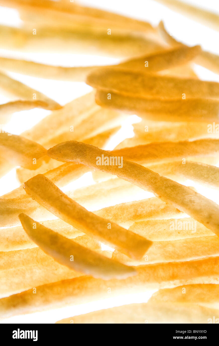 McDonald's French Fries - Stock Image