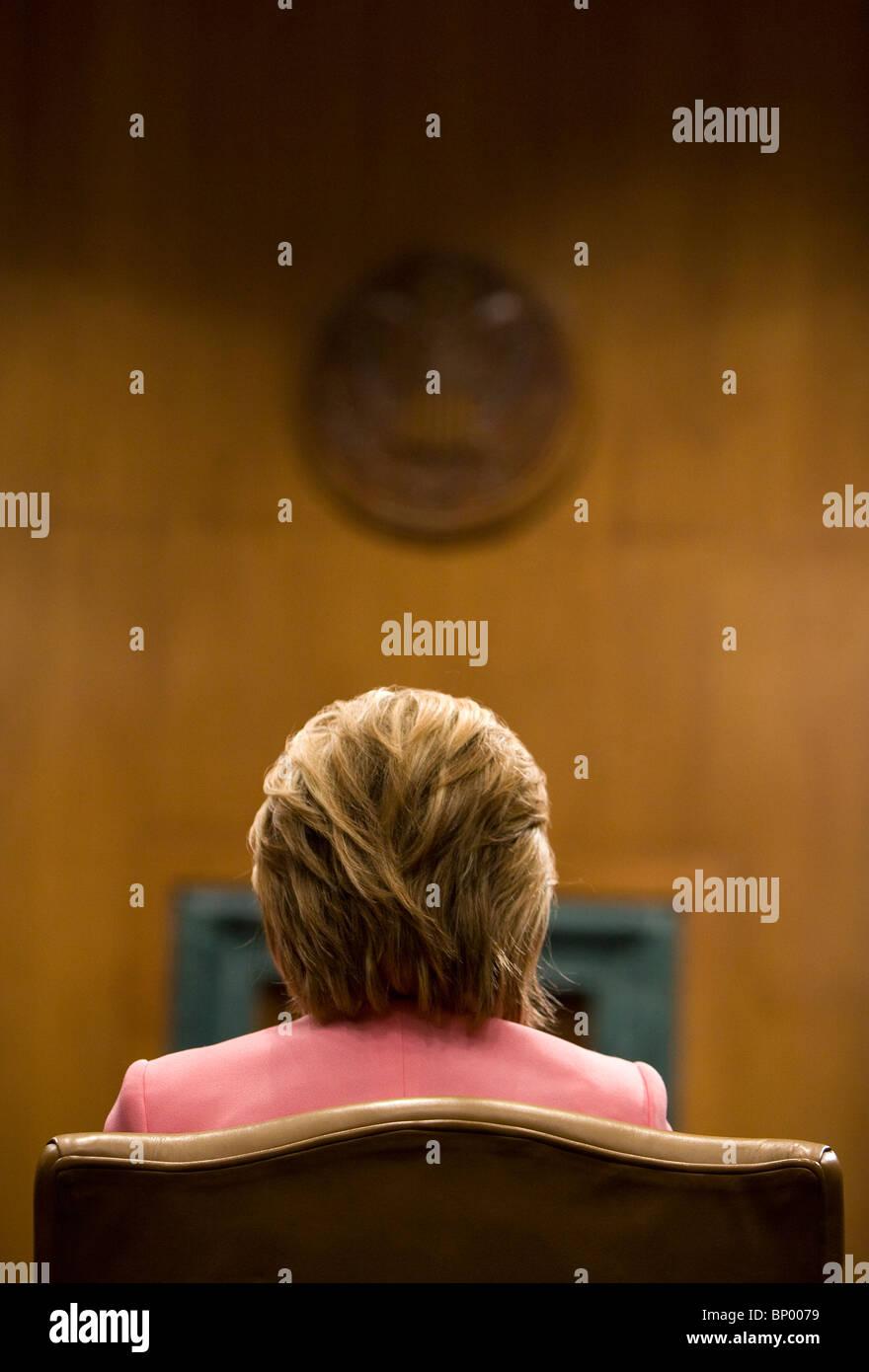 Secretary of State Hillary Clinton. Stock Photo