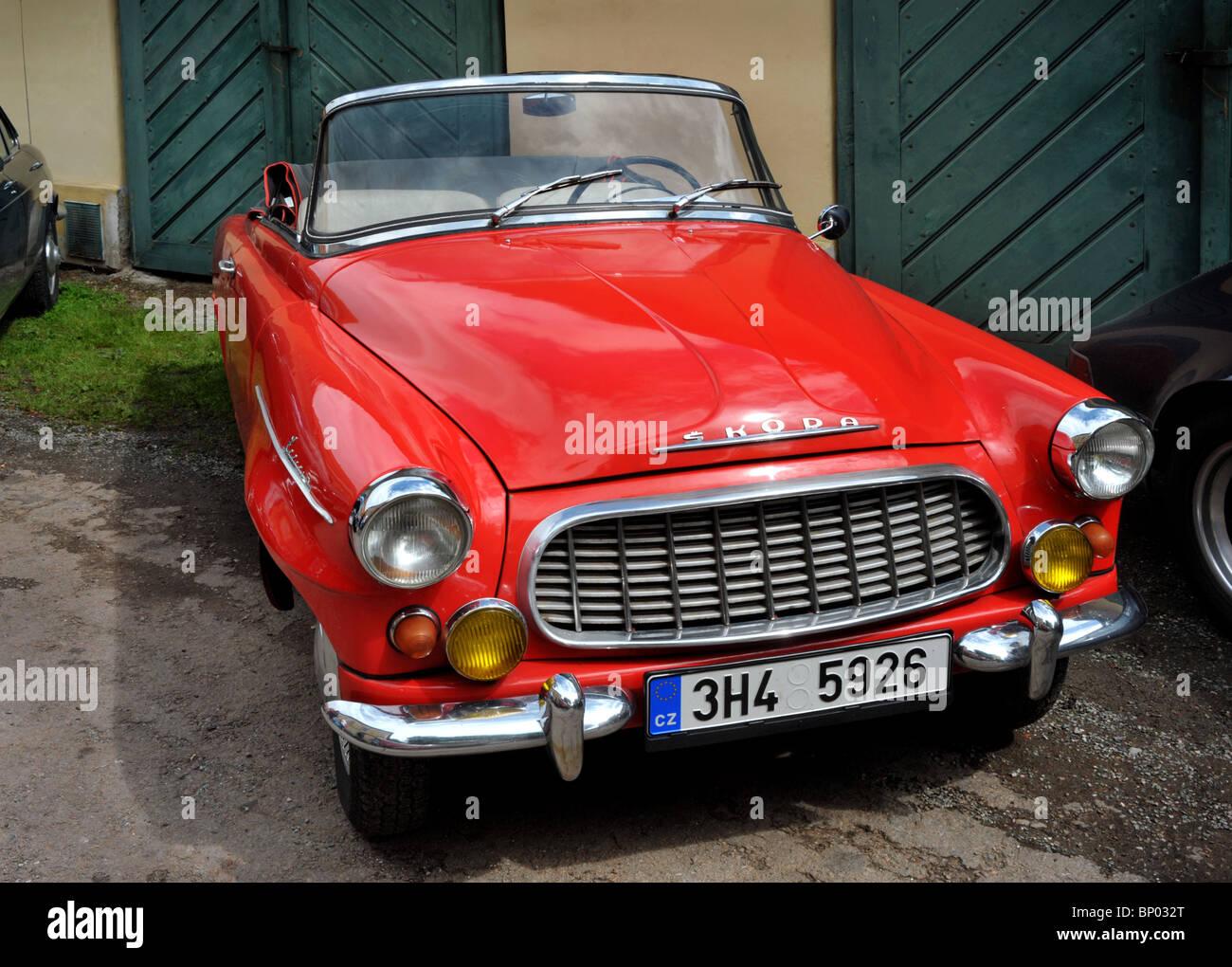 Vintage car Skoda Felicia - Stock Image