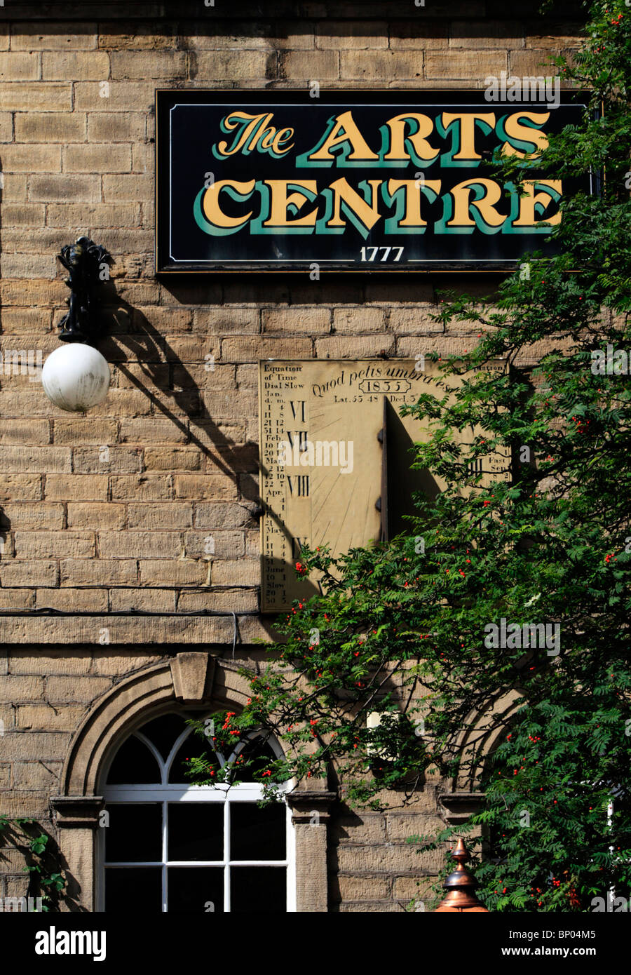 The Arts Centre in Hebden Bridge, West Yorkshire - Stock Image