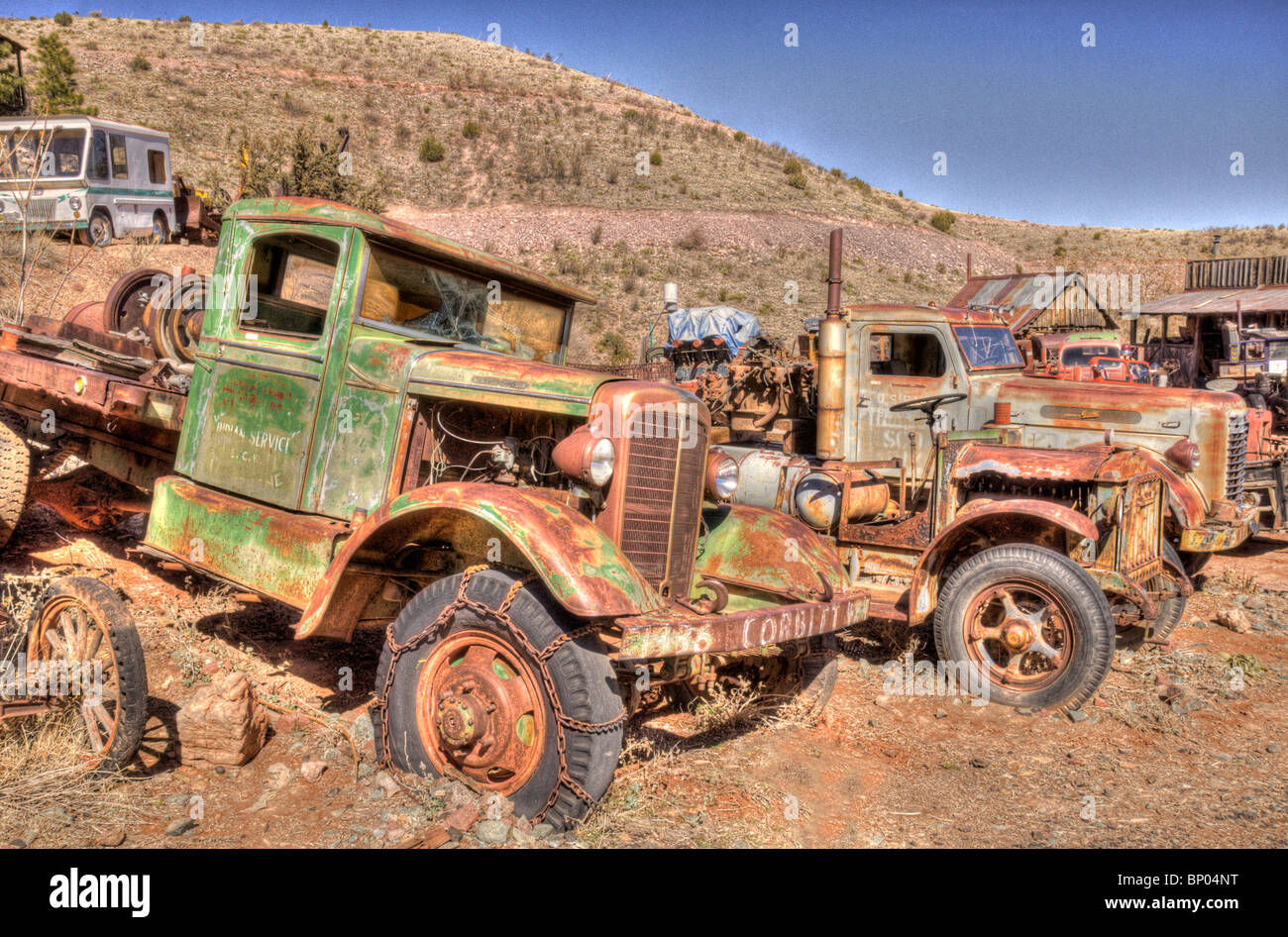 Old Trucks Stock Photos & Old Trucks Stock Images - Alamy