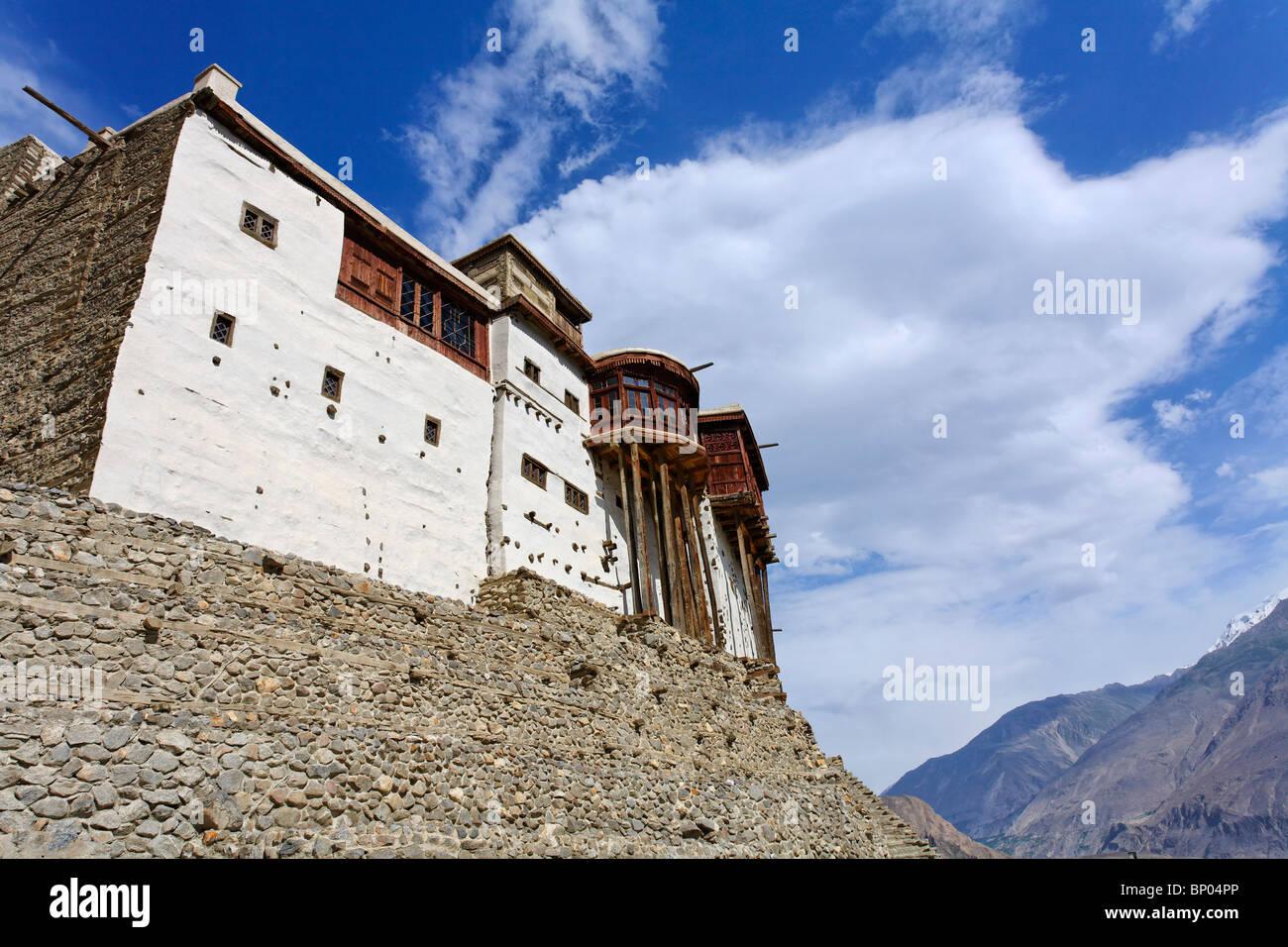 Pakistan - Hunza Valley - Karimabad - Baltit Fort - Stock Image