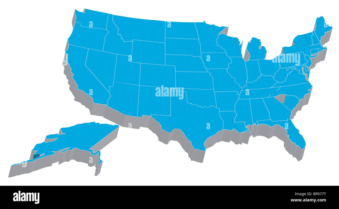 Map Of Country Usa.There Is A Map Of Usa Country Stock Photo 30738508 Alamy