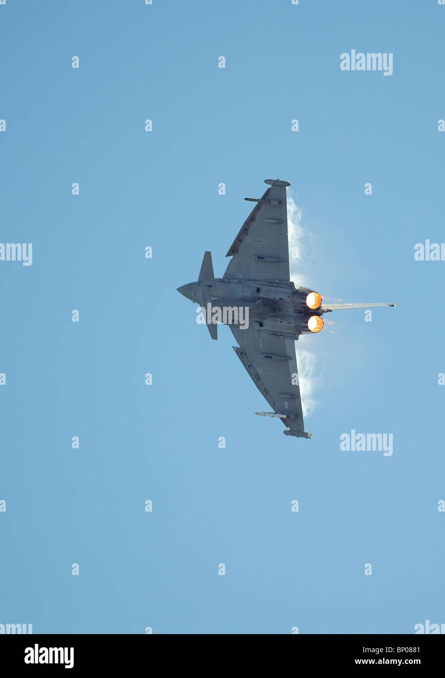 Typhoon. jet plane - Stock Image