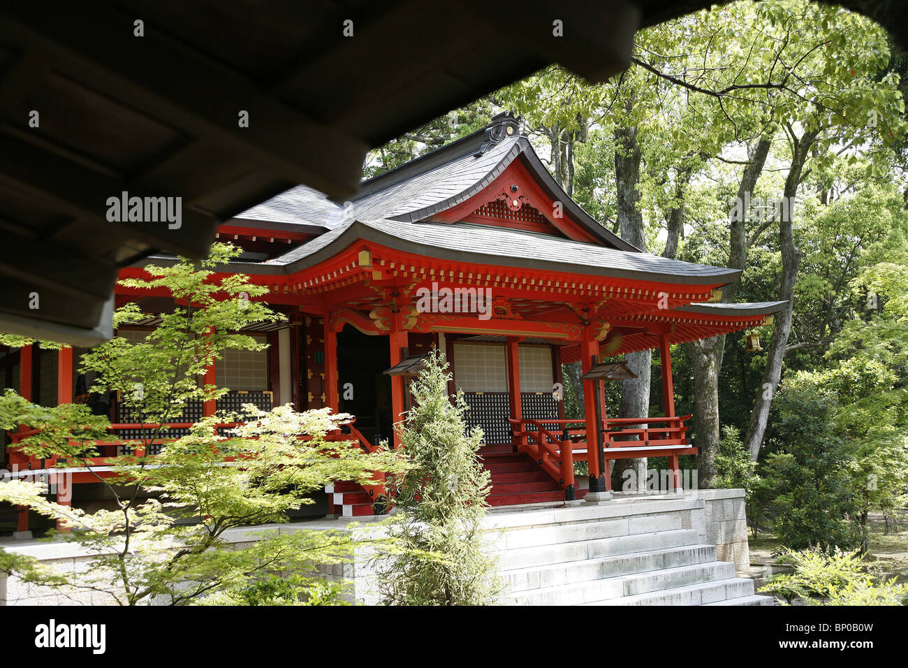JAPON, KYOTO, Daikakuji temple - Stock Image