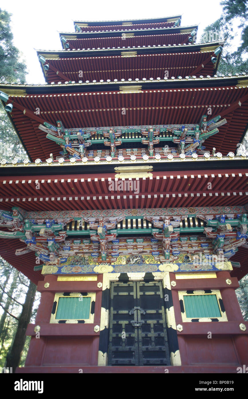 JAPON, NIKKO, Toshogu shrine - Stock Image