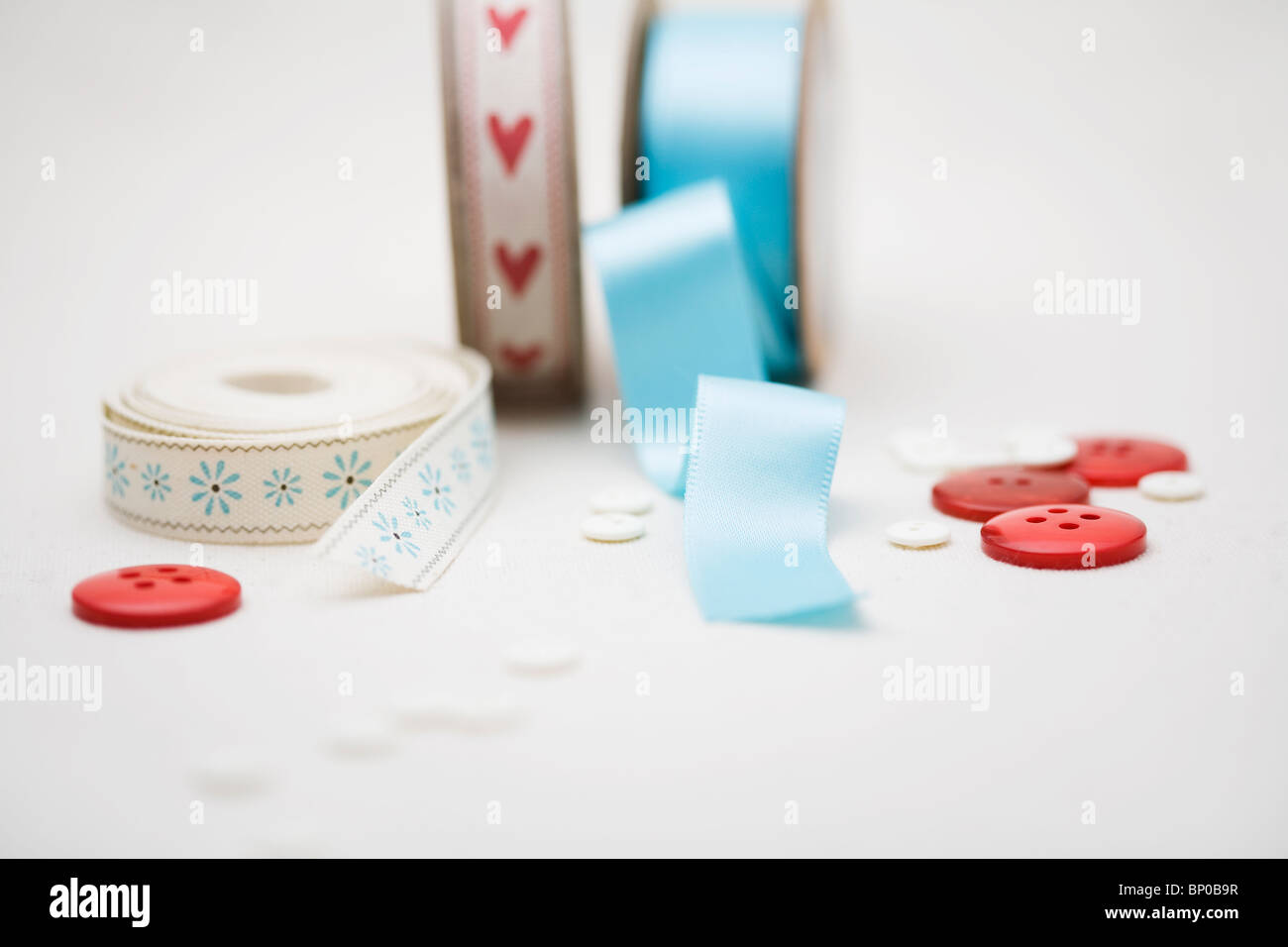 Arts and crafts materials - Stock Image