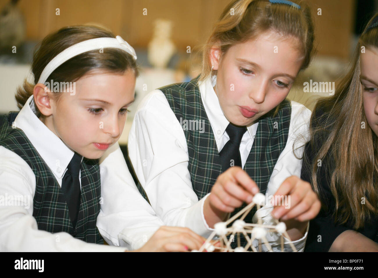 Canada, Québec, Montreal, private school, physics class - Stock Image
