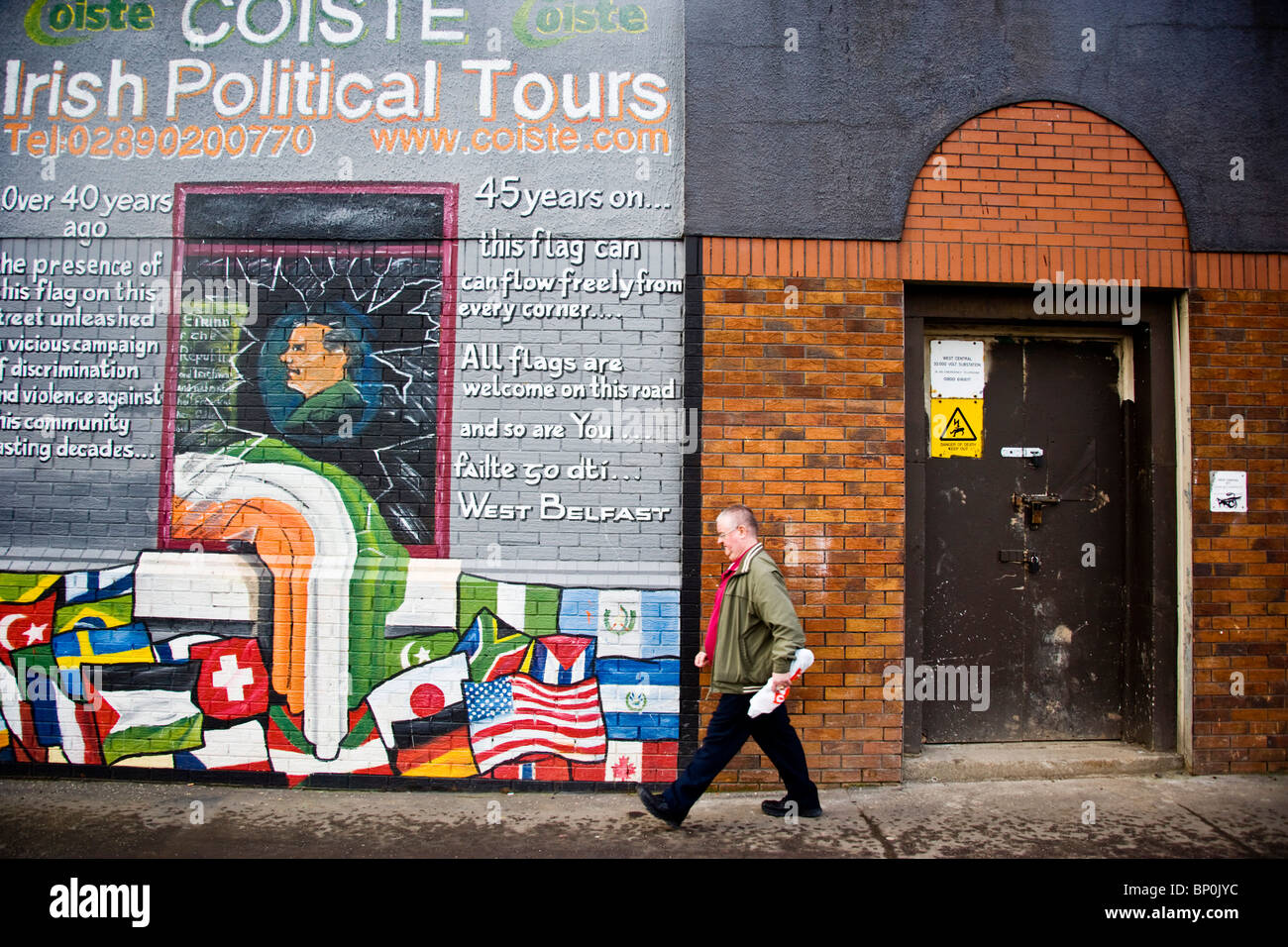 Republican Murals High Resolution Stock Photography And Images Alamy