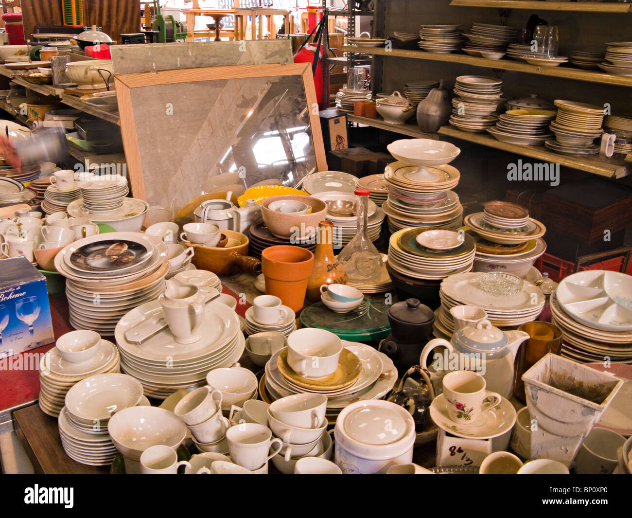 Secondhand trade - Stock Image