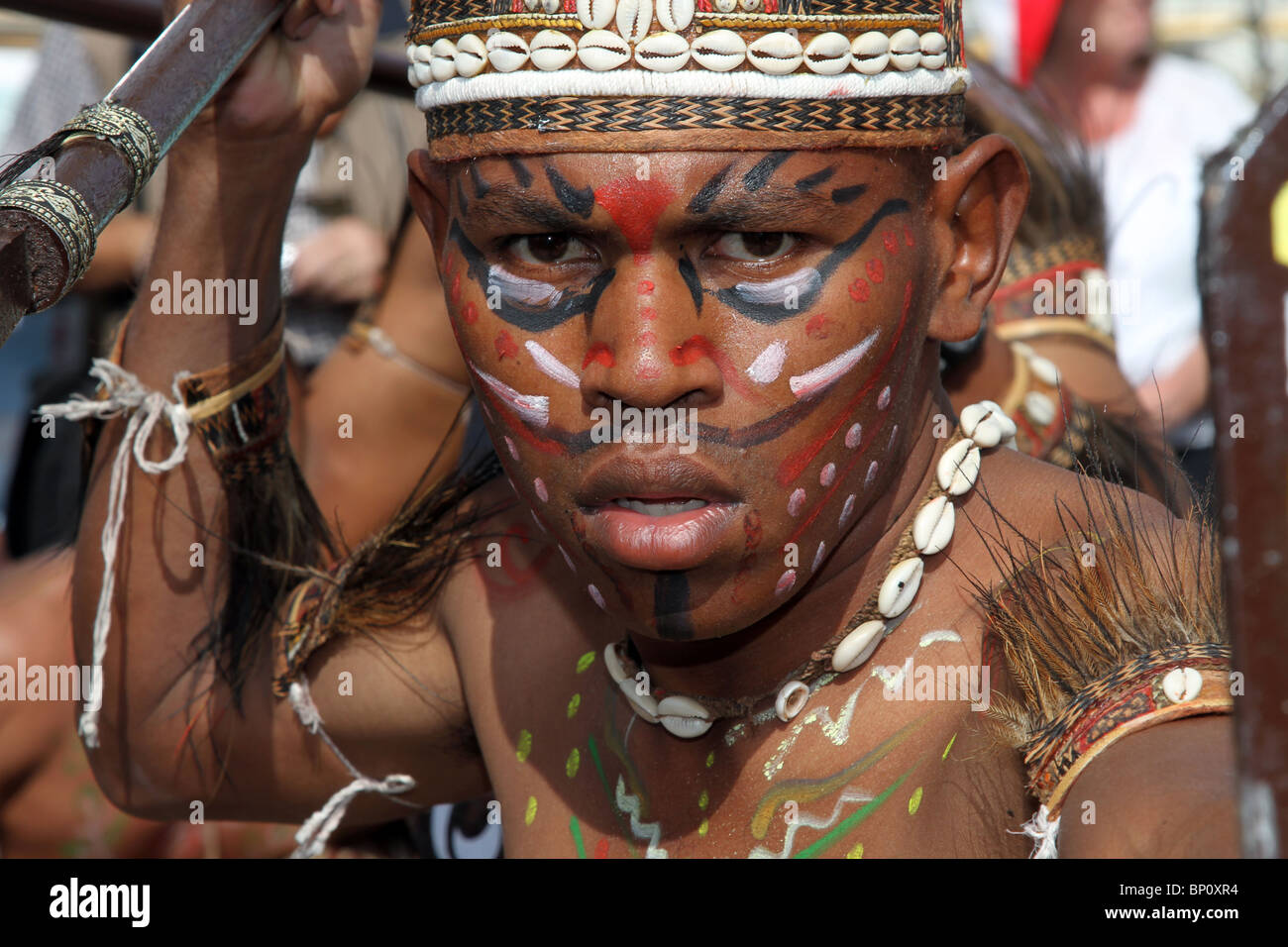 Indonesian Face Paint Indonesia Travel Bali Asian Face