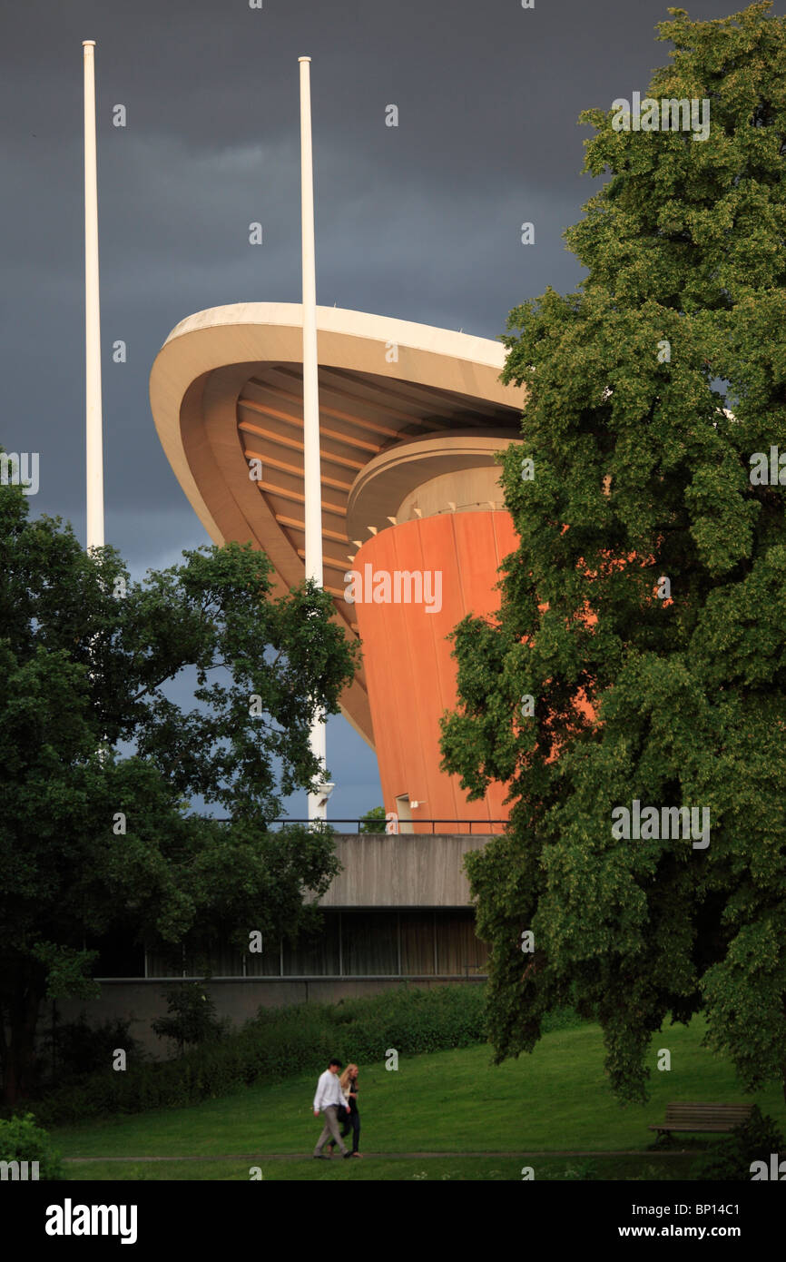 Germany, Berlin, Haus der Kulturen der Welt, House of World Cultures - Stock Image