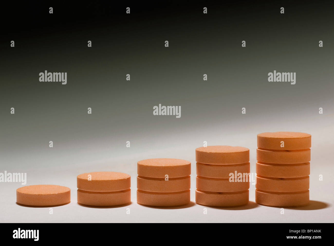 Vitamin C tablets - Stock Image