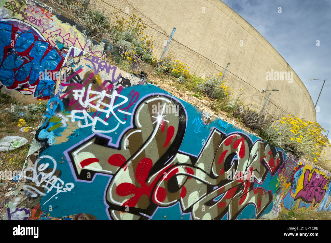 Street Art And Graffiti By The Use Of Spray Paint Artistry