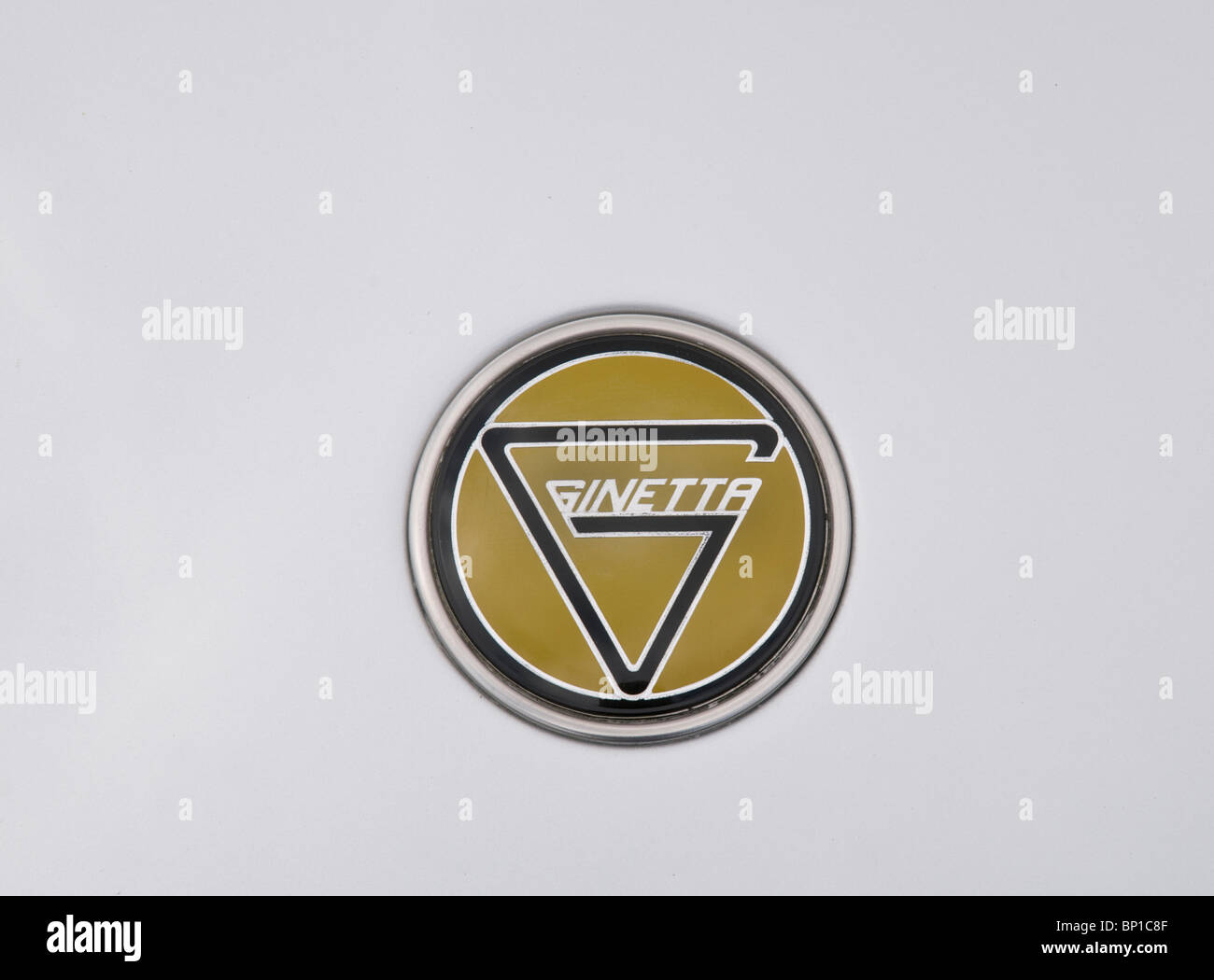 Ginetta badge - Stock Image