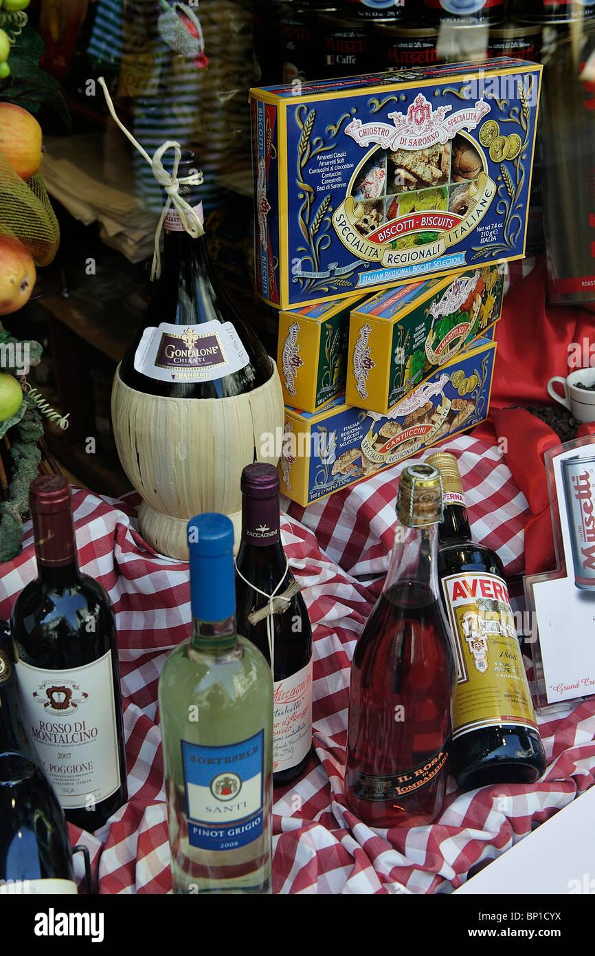 Italy, Veneto, Venice, italian products - Stock Image