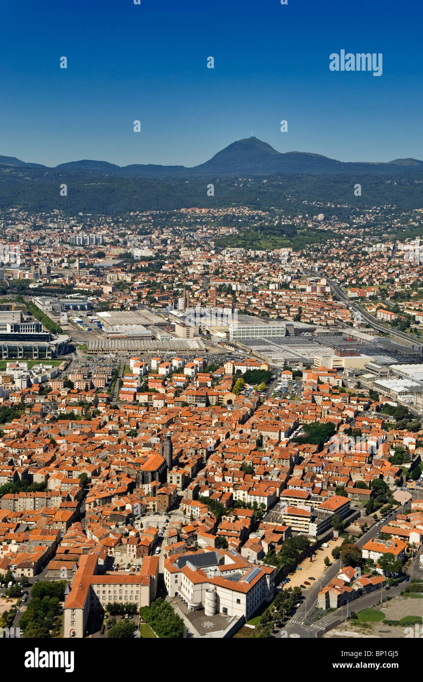 Massif central france city stock photos massif central - Massif jardin japonais clermont ferrand ...