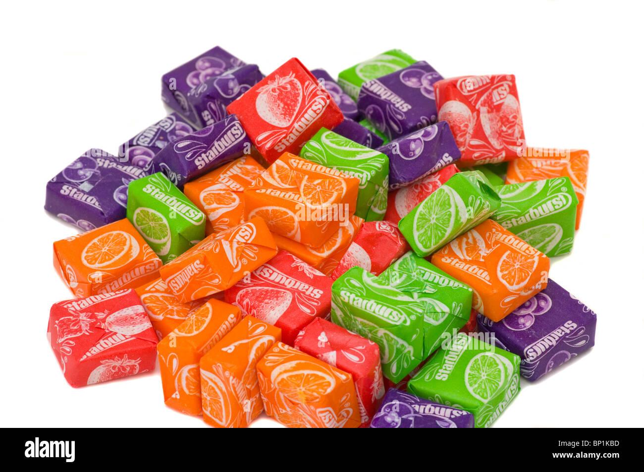 Starburst Sweets - Stock Image