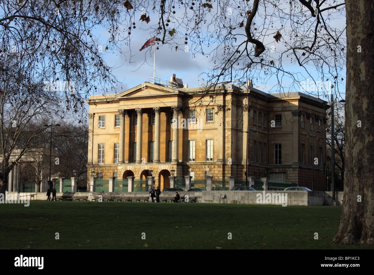 Apsley House, Former home of the Duke of Wellington, Hyde Park Corner, London, UK - Stock Image
