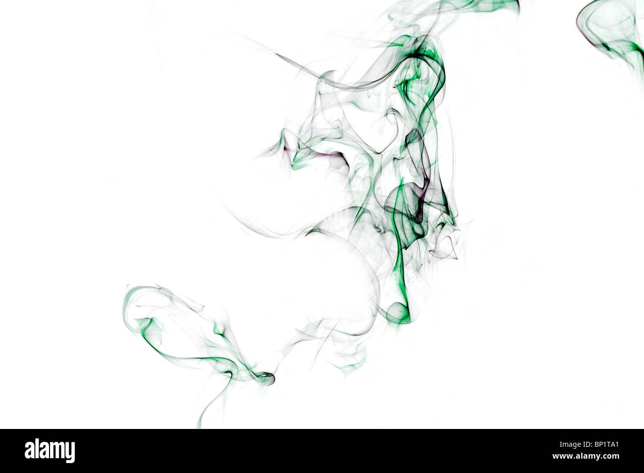 smoke, art, photography, abstract, image, swirls, pattern, shell, waves - Stock Image