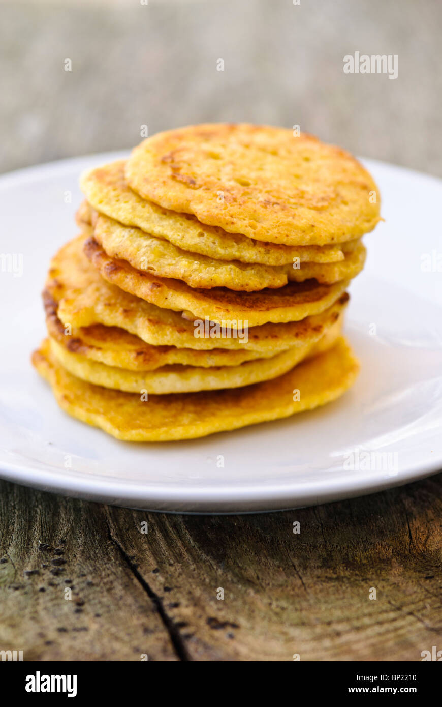 Little pancakes made of indian chick pea flour (chana dal