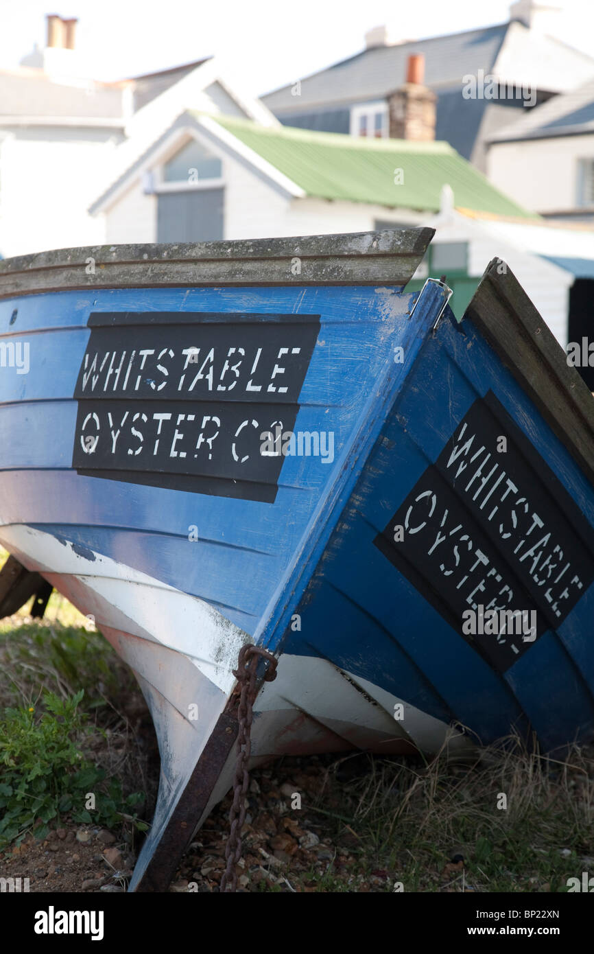 Whitstable Oyster Fishery Restaurant at Whitstable in Kent, England, UK. Photo:Jeff Gilbert - Stock Image